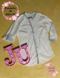 Título do anúncio: Blusa Handara manga com duas formas de uso