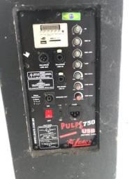 Caixa de som ativo ( pumps 750 )