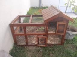 Casa para coelhos
