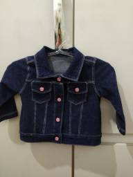 Linda jaquetinha jeans infantil