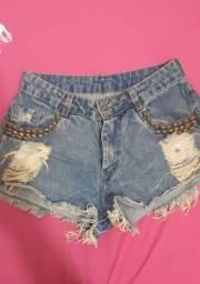 Desapego shorts jeans