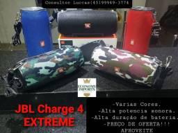 JBL EXTREME CHARGE 4 -NOVA -GARANTIA -APROVEITE