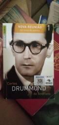 Livro Carlos Drummond de Andrade, nova reunião.