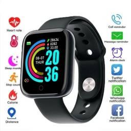 Novo Smartwatch Relógio D20 Y68 FIT com leitura de Batimento Cardíaco