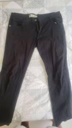 Calça preta tamanho 46 promoção