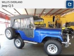 Willys Ovwrland Jeep CJ 5 relíquia 76/76