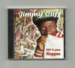 Título do anúncio: Cd - Jimmy Cliff - 100% Pure Reggae - Usado