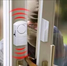 Alarme com sensor para portas e janelas