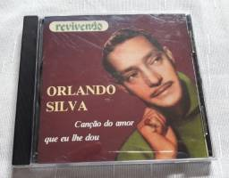 CD Orlando Silva - Canção Do Amor Que Eu Lhe Dou - Selo Revivendo