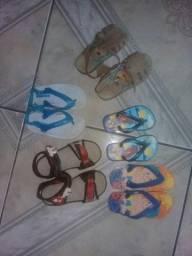 Sandálias infantil masculino