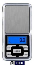 Mini Balança Digital Lcd Alta Precisão Portátil Com Bandeja