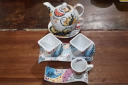 Conjunto de chá Gaudí Barcelona