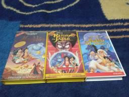 Coleção VHS Disney Aladdin