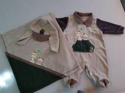 Vendo lote de roupas de bebê menino