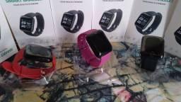Relógios Smartwatch.