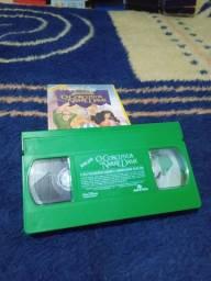VHS Disney e Filme infantil