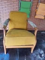 Antiga cadeira do papai