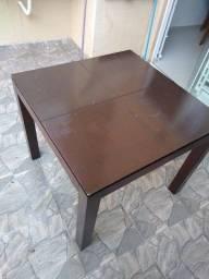 Mesa madeira maciça ETNA 90x90