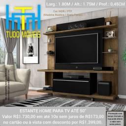 Título do anúncio:  ESTANTE HOME PARA TV ATÉ 50 POLEGADAS 1 PORTA
