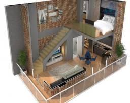 Duplex, 57m²  no Joaquim Távora
