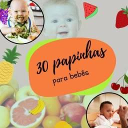 30 Melhores Papinhas para seu bebê que você tem que saber. Aprenda Agora!