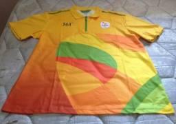 Camisa de Voluntário Rio 2016 (Amarela) Dos Jogos Paralímpicos 1078e161c400f