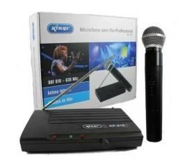Microfone Profissional Sem Fio Uhf Wireless igrejas e eventos