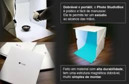 Photo Studio Box 38x38x38 - Estudio Fotográfico - Produto Novo