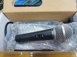 Microfones com fio profissional igrejas e eventos