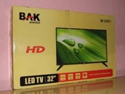 Tv/Monitor Bak led 32 pol usb hdmi internet lacrada na caixa esta tá valendo em Poa-rs