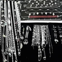Vendo kits apartir de 20 a peças folheados a prata - altíssima qualidade - lucro alto!!!