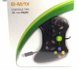 Controle para play 3 e pc do modelo do x box