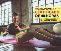 Curso de treinamento funcional e preparação física funcional