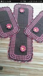 Jogos de cozinha em croche