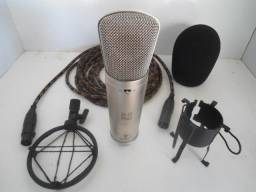 Microfone Behringer b2 Pro Com Cabo, Profissional