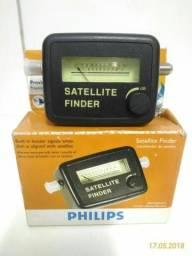 Localizador de Satélites para antenas parabólicas da Philips