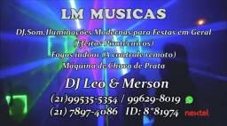 Dj,som e iluminacoes ( l m musicas ) p.festas (21)995355354 vivo zap RS200,00