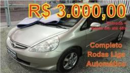 Honda Fit Completão + Automático Vndo + Trco + Financio + Nunca Batido + Todo Lacrado - 2008