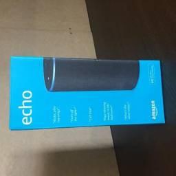 Caixa de som Alexa Echo NOVA embalada
