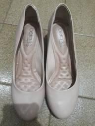 Sapato Beira Rio Comfort Semi-Novo