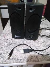 Caixa de som para pc e notbook