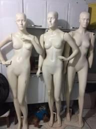 Manequins de fibra