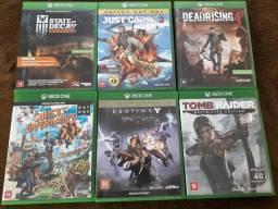 Jogos para Xbox one 30 reais cada
