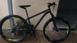 Bicicleta Caloi Velox, Aro 29, Quadro em Aço, Preta