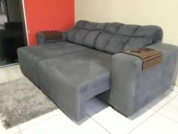 Sofá retrátil e reclinável, alta qualidade! entrego!!