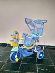 Triciclo/Carrinho para bebê ou criança pequena