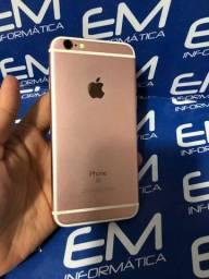 Disponivel IPhone 6s 32Gb Rosa - Seminovo - com nota e garantia, somos loja fisica