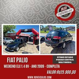 Fiat Palio Weekend ELX 1.4 mpi Fire Flex 8V 2009 Flex