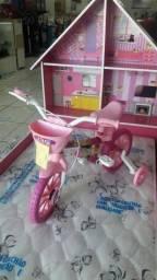 R$169,00 bicicleta infantil