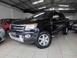 Ranger Limited 3.2L 20V CD4 - Preta - 2015